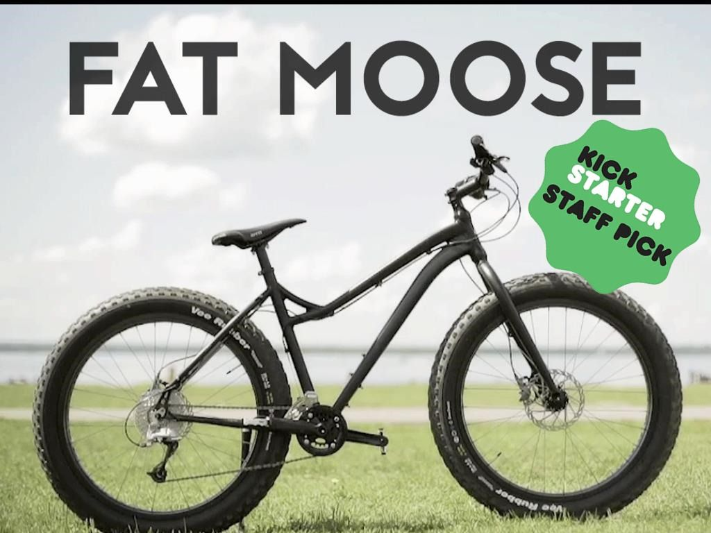 The Fat Moose By Moose Bicycle S Video Poster My Kickstarter