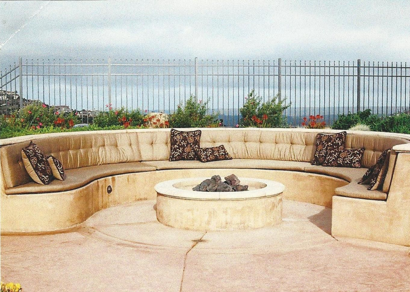 Home | Custom bench cushion, Outdoor furniture sets ... on Curved Patio Ideas id=27933