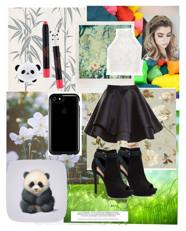"""Panda life"" by creativepanda1 ❤ liked on Polyvore featuring Brewster Home Fashions, WALL, York Wallcoverings, Polaroid, TONYMOLY, Alyce Paris, Speck, Apt. 9, panda and PandaLife"