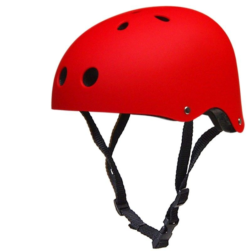 Skateboard Extreme Sport Skating Climbing Bicycle Helmet Red