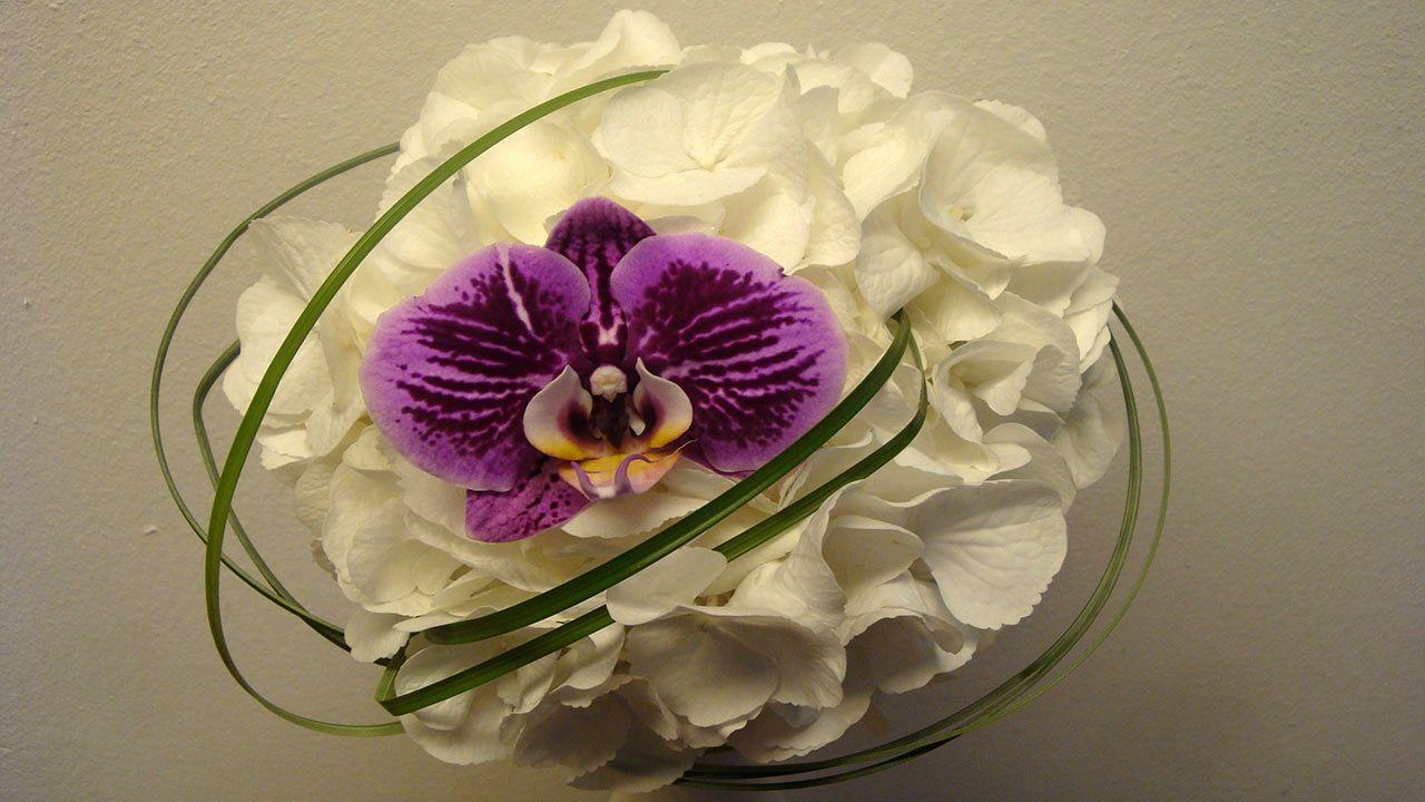 Hochzeitsfloristik Brautstrau selber binden  Florashop