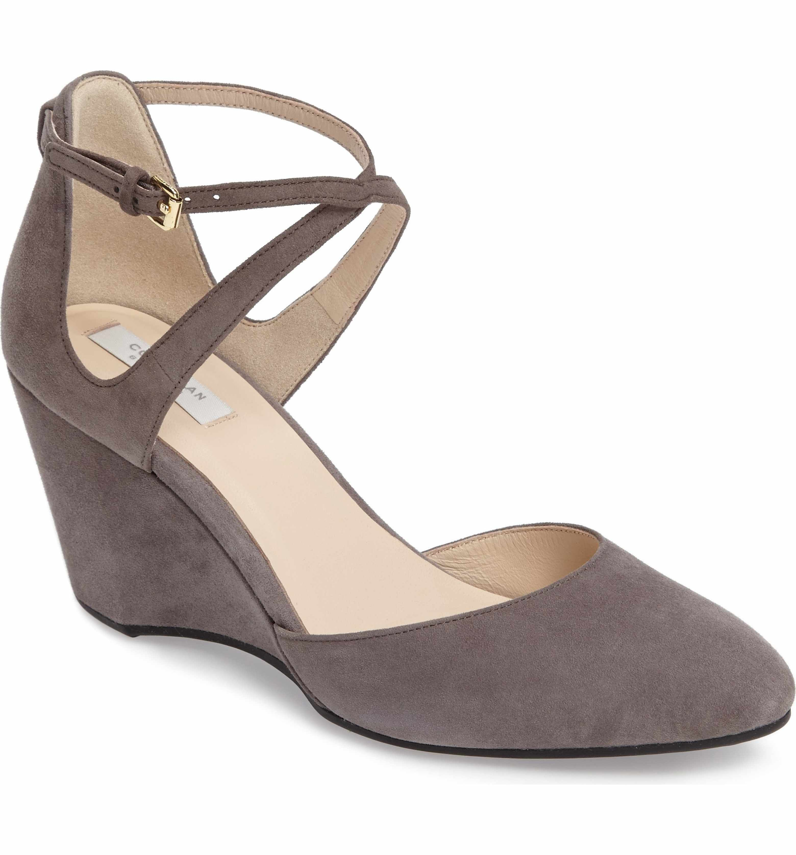 8e00a0f03d7d Main Image - Cole Haan Lacey Ankle Strap Wedge Pump (Women) | Fall ...