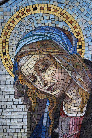 Pin de Duli en Mosaicos  Mosaicos Vitromosaico y Mosaiquismo