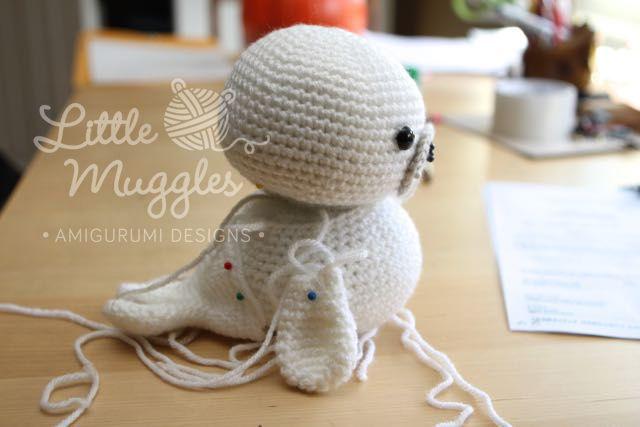 Amigurumi Bebekte Saç Yapımı : Amigurumi fok balığı yapılışı amigurumi tığ işleri ve bebek