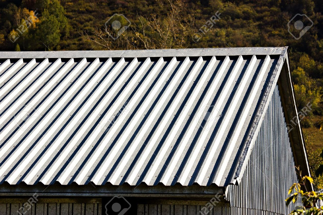 Corrugated Metal Roofing For Inexpensive Option Ideas: Grey Corrugated Metal Roofing And ...