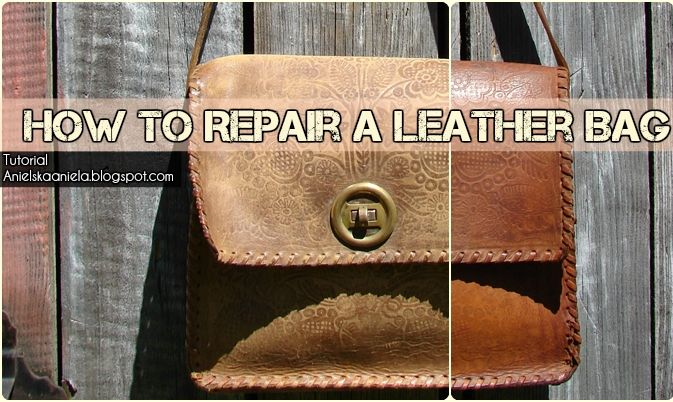 How To Dye And Repair Leather Bag Jak