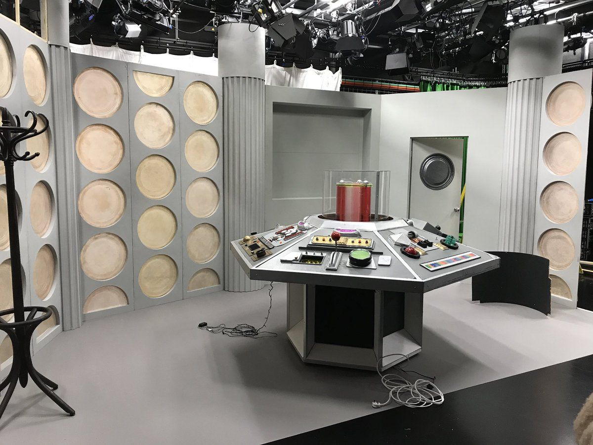 Tardis Console Room For Shada 2017 Doctor Who Doctor Who Tardis
