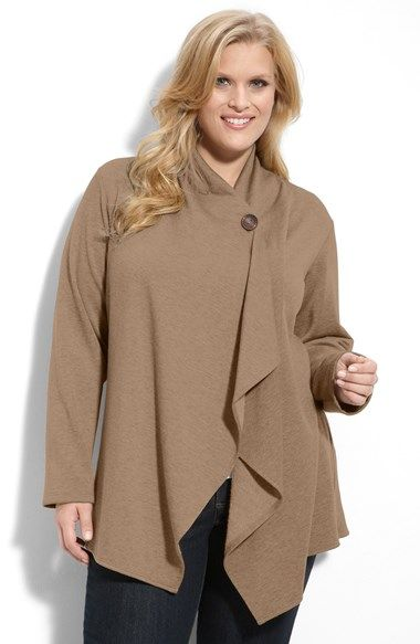One-Button Fleece Cardigan | Fleece cardigan, Nordstrom and ...
