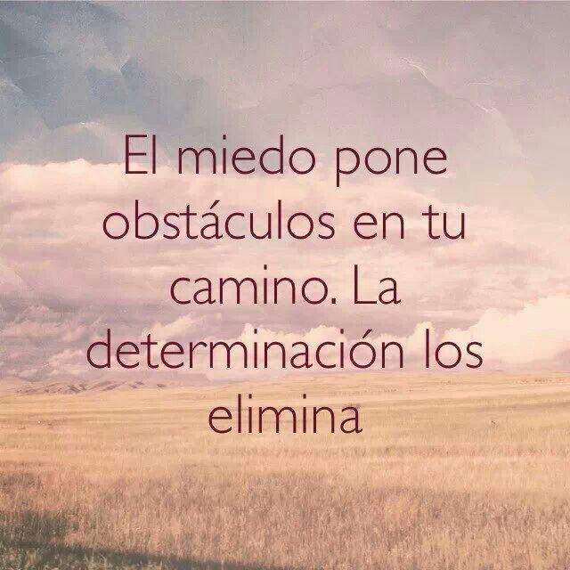 Determinación!