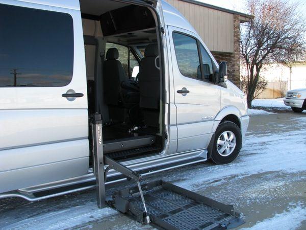 Luxury Sprinter Van Wheel Chair Lift