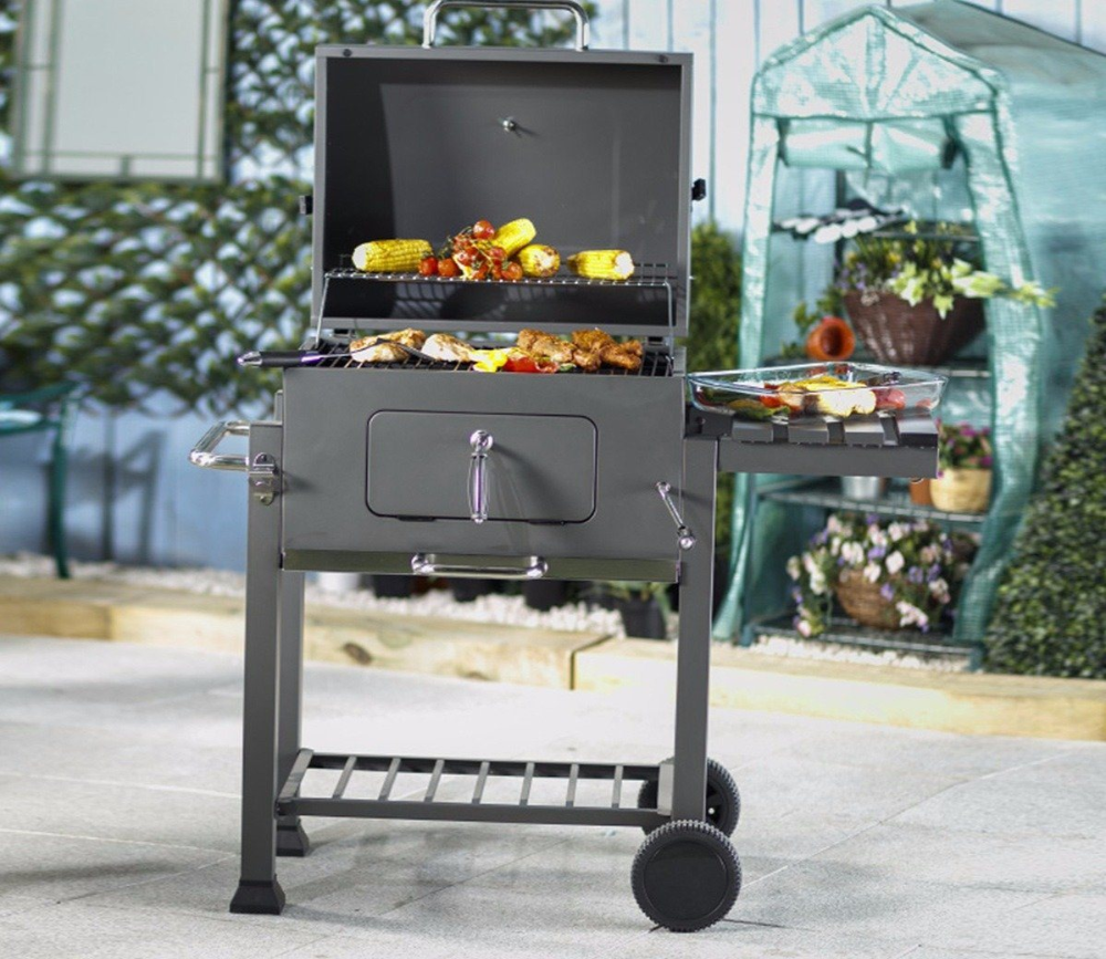 Outback Orion Charcoal Bbq Gardensite Co Uk In 2020 Charcoal Bbq Bbq Compact Storage