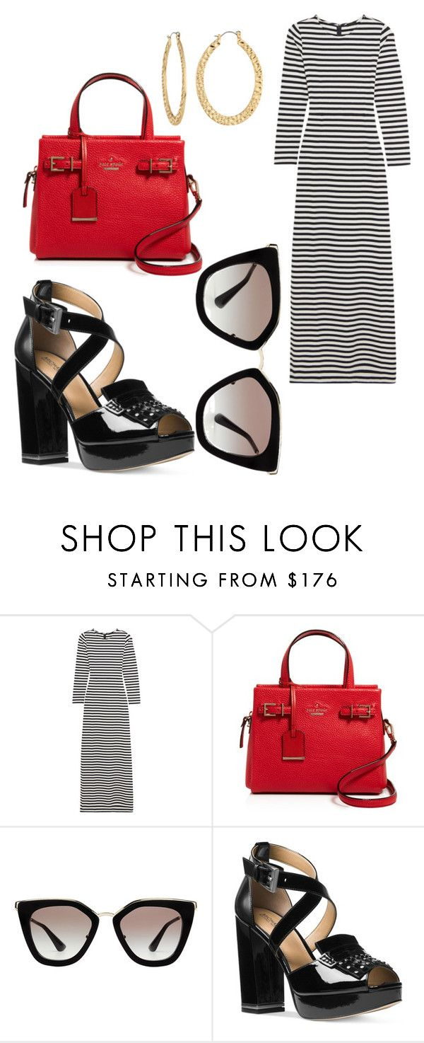 """Untitled #7697"" by ohnadine ❤ liked on Polyvore featuring J.Crew, Kate Spade, Prada, Michael Kors and Fragments"