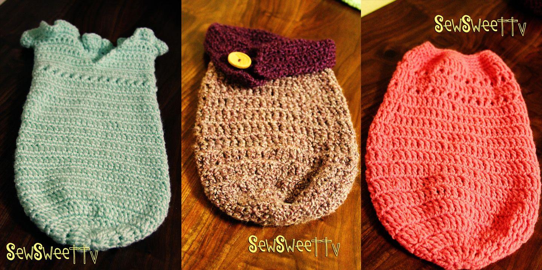 Free Crochet Baby Cocoon Pattern Simple Ideas
