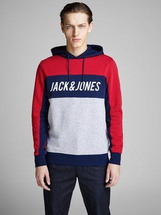 b33d184b6 Sweatshirts For Men: Black, White, Grey & More | JACK & JONES ...
