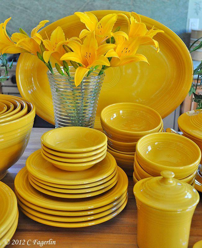 Fiesta® Marigold Dinnerware.   Fiesta® / Homer Laughlin China ...