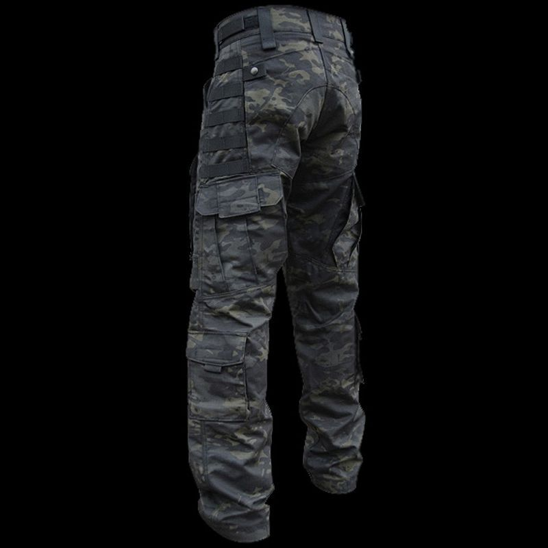 bab3b69978265 Kitanica All Season Pants in Black Multicam Tactical Wear, Tactical Clothing,  Tactical Pants,