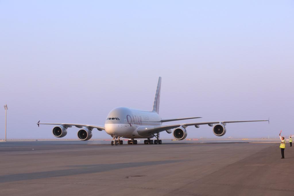 Qatar A380  pic.twitter.com/lF0WlhLCRu