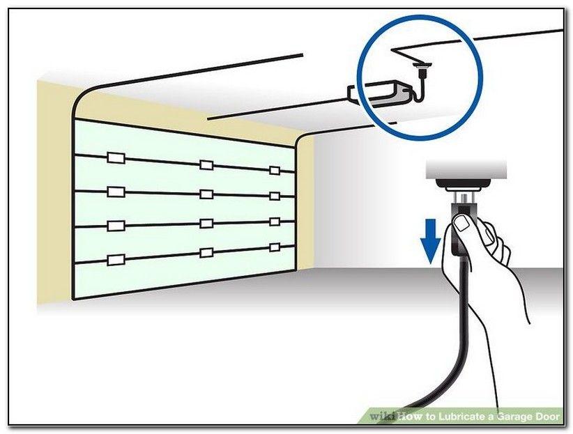 Parts Of Garage Door To Lubricate Garage Doors Garage Door Grease Garage Door Maintenance