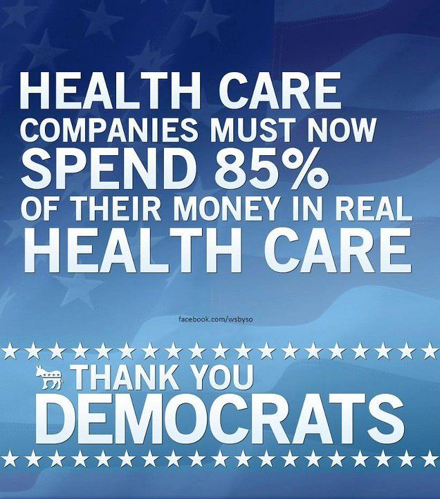 And remember this: Medicare only uses @ 4% to administer health ...