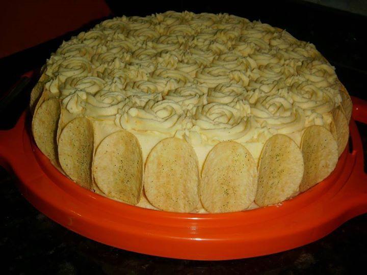 Torta Pao Forma Petiscos Receita Bolo Salgado Culinaria