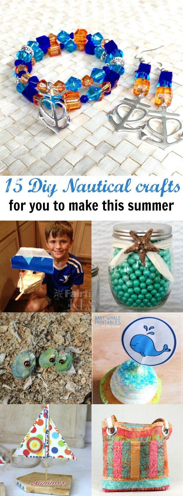 Nautical crafts to make - Diy Nautical Inspired Crafts You Can Make This Summer Craft Ideas For All Skill Levels