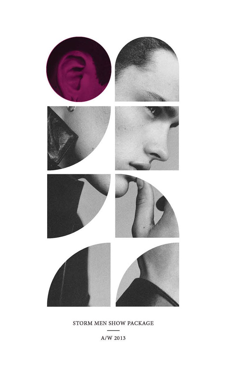 Storm LFW A/W 2013 Show Package - Men | Graphic design ...