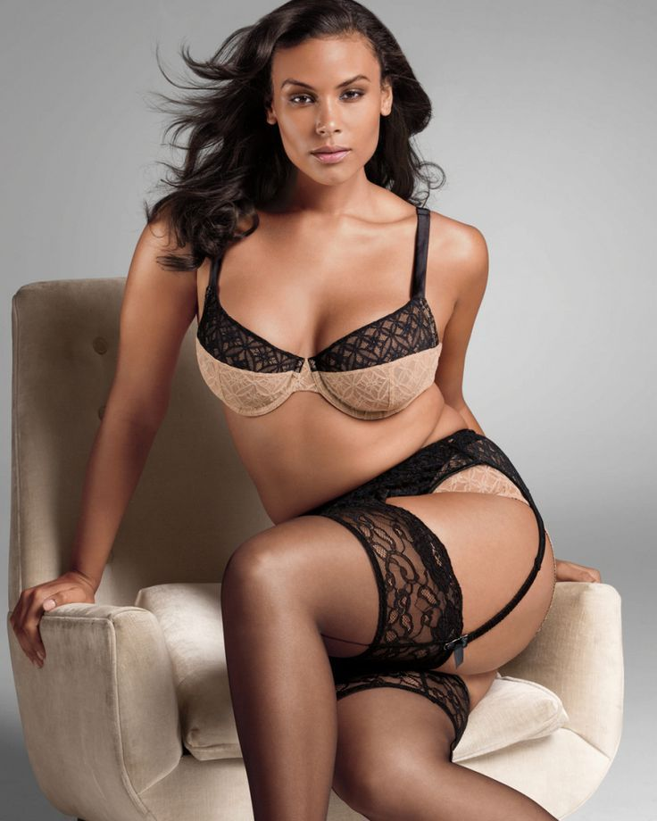 plus size sexy lingerie are a reality and just like any other
