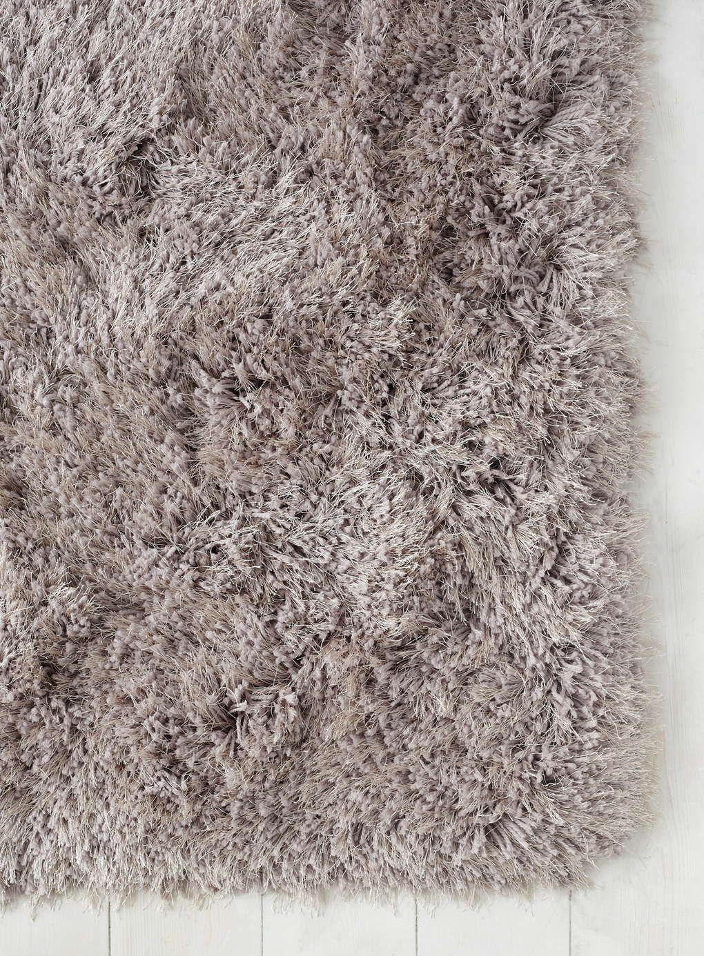 Capri Shaggy Shimmer Rug 100x150 Blush