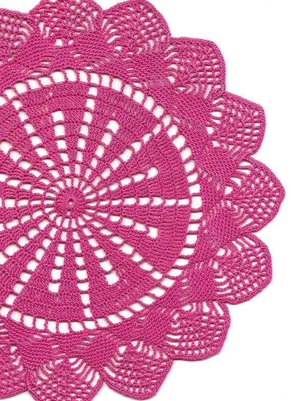 Crochet doily   CROCHET PATTERNS   Pinterest   Carpeta, Tejido y ...