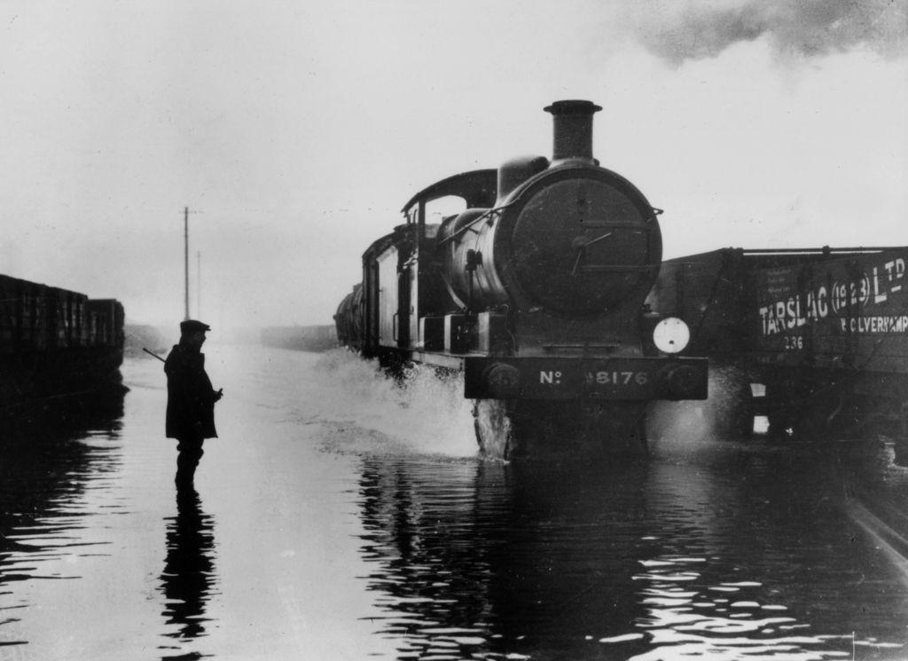 Powódź w Londynie - 7 stycznia 1928