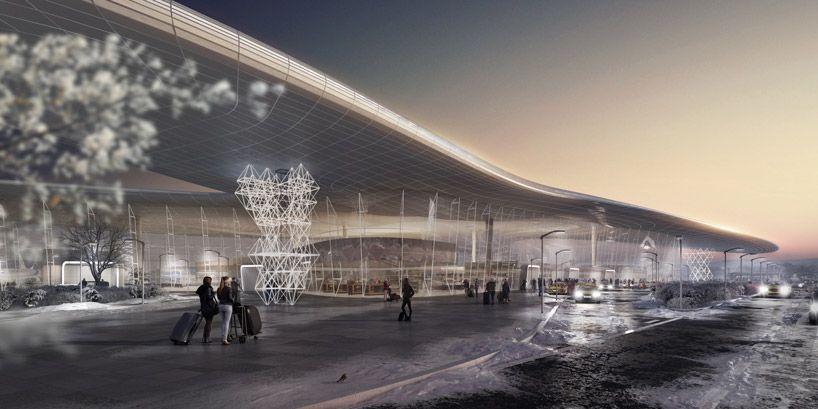 Studio Fuksas Reveals Winning Design For New Gelendzhik Airport In Russia Gelendzhik Win Competitions Architecture