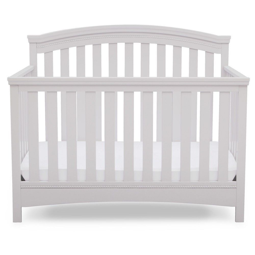 Delta Children Emerson 4 In 1 Convertible Crib Bianca Delta Children Convertible Crib Convertible Crib Grey