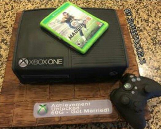 Xbox One Kuchen Home Sweet Home
