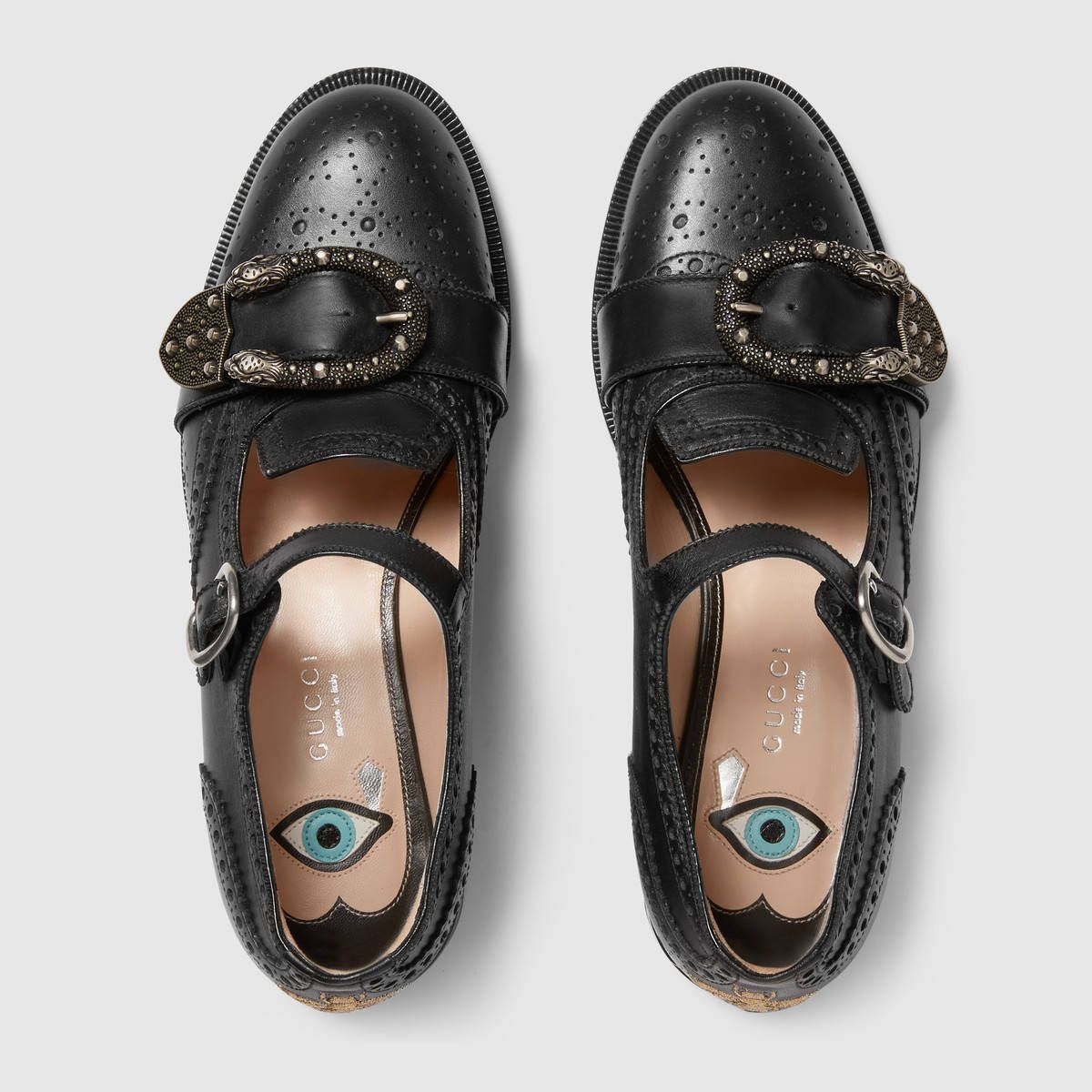 2511e5584208 Gucci Queercore brogue shoe Detail 3   Yearning for It   Shoes ...