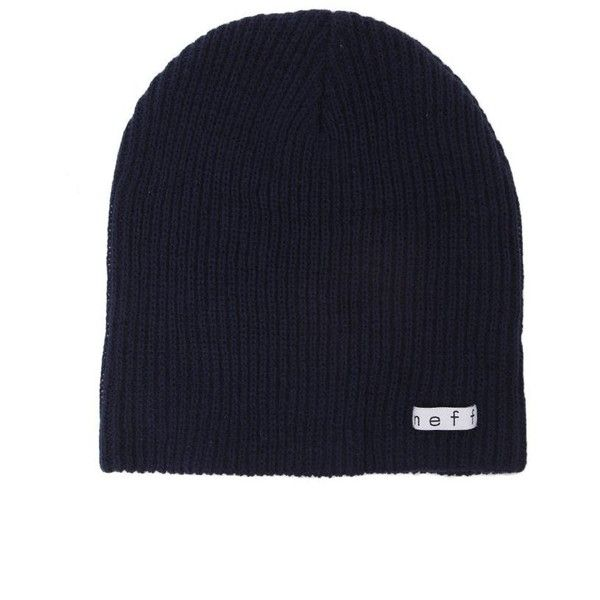 b7eb1ceee1853 Neff Daily Beanie ( 17) ❤ liked on Polyvore featuring accessories ...