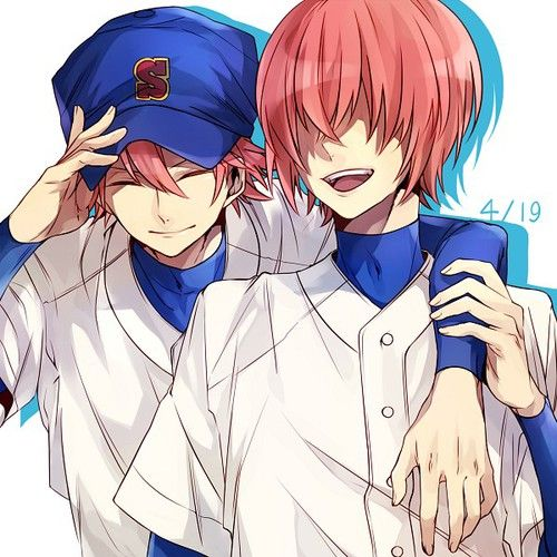 Image about brothers in Diamond no Ace ⚾️💕 by Alex