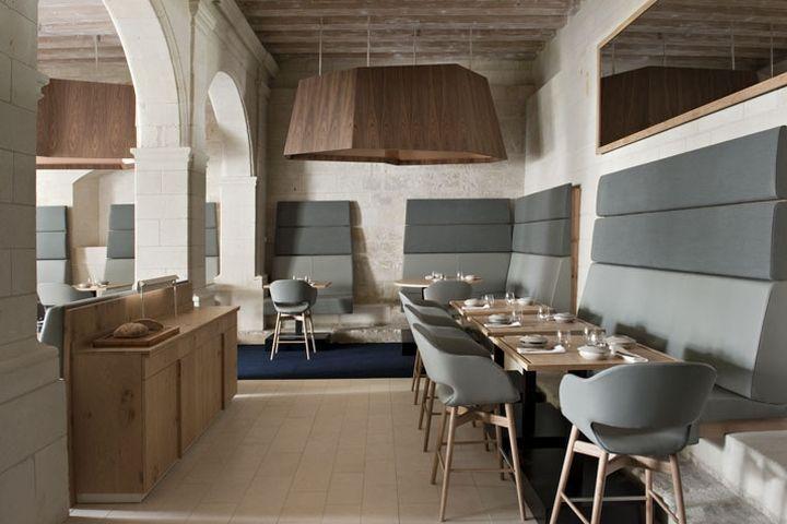 Abbaye de Fontevraud Hotel by Jouin Manku, Anjou   France hotel hotels and restaurants