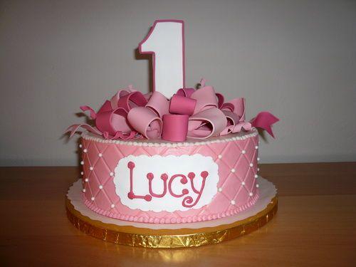 Birthday Cake Ideas First ~ First birthday cake for girl st birthday cake st birthday