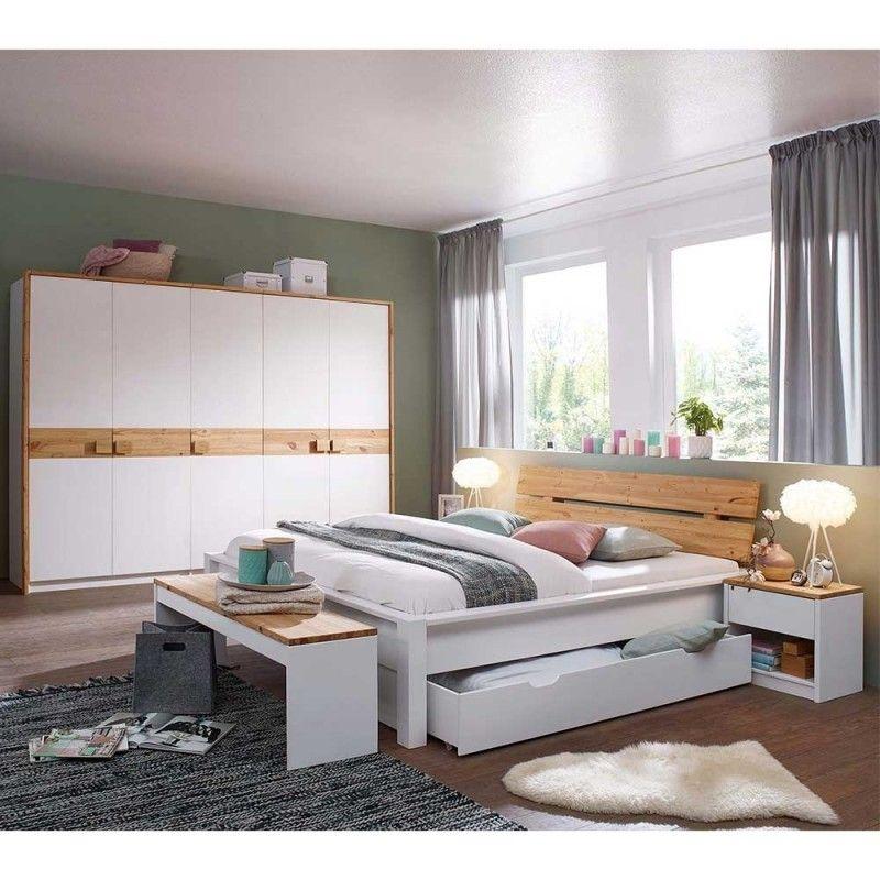 Set Schlafzimmer Möbel zweifarbig - Myscia (5-teilig ...