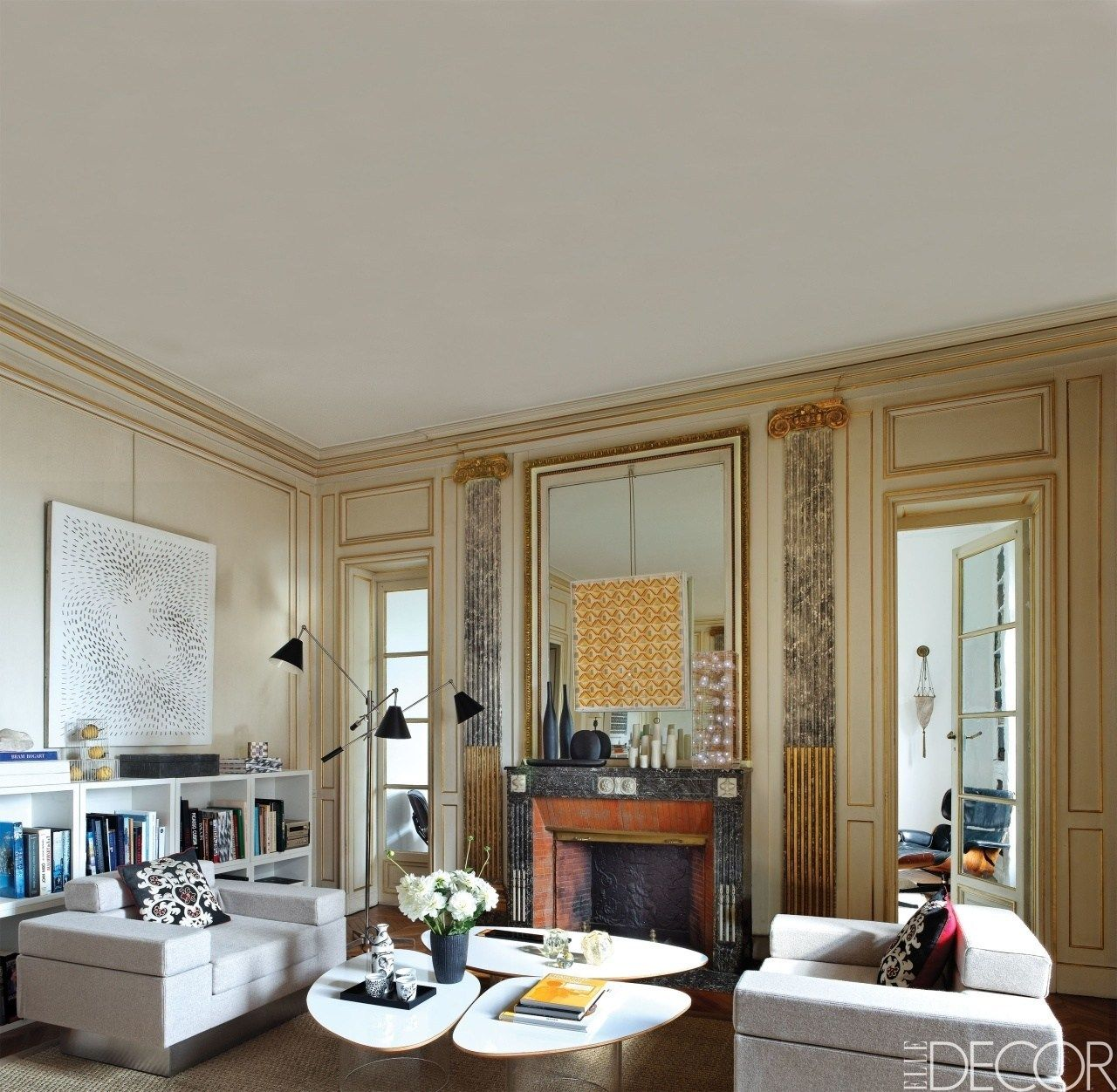 Mirror Mirror Feng Shui Mirror Placement Guide Shesociety In 2021 Elle Decor Living Room Decor Interior Design Living Room Mirrors