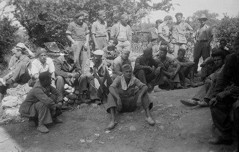 Spain - 1938. - GC - 15th International Brigade Transmiciones [Transmissions], Marca