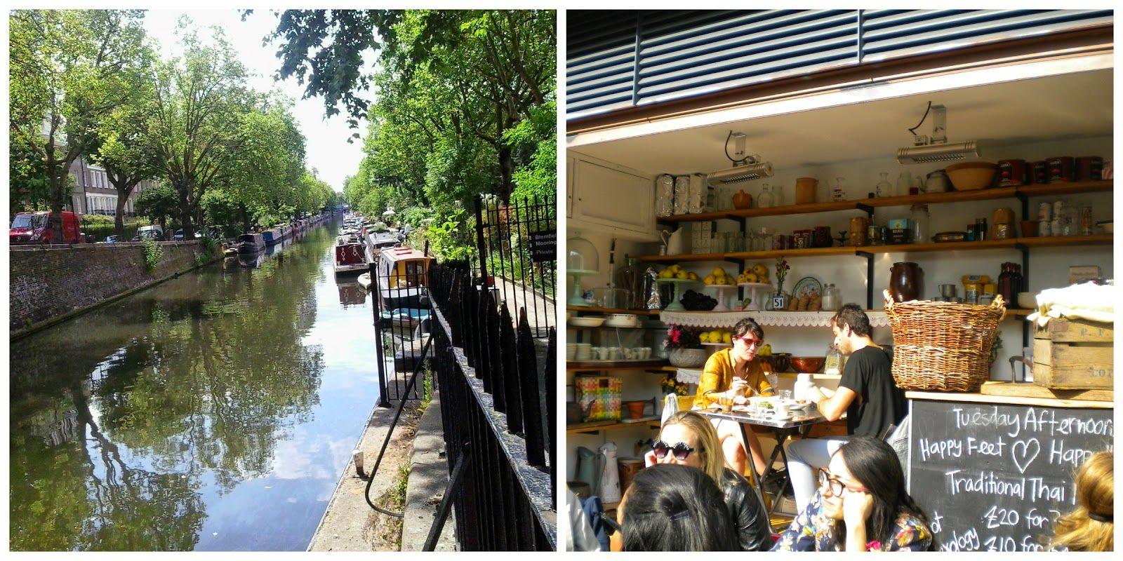 Un paseo por Regent's Canal
