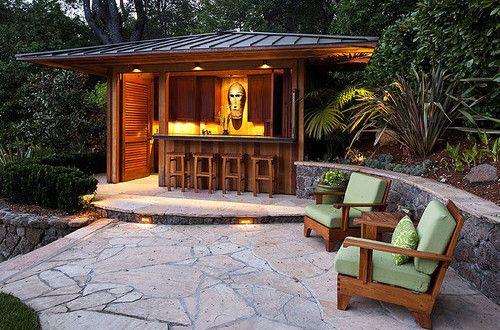 Garten-Bar selber bauen - fresHouse Garten Pinterest Backyard - pool garten selber bauen