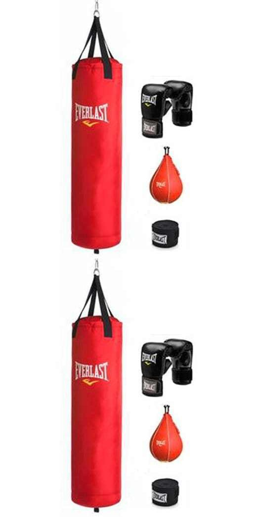 Punching Bags 30101: Everlast 70 Lb Red Polycanvas Heavy Bag Kit -> BUY IT NOW ONLY: $79.27 on eBay!