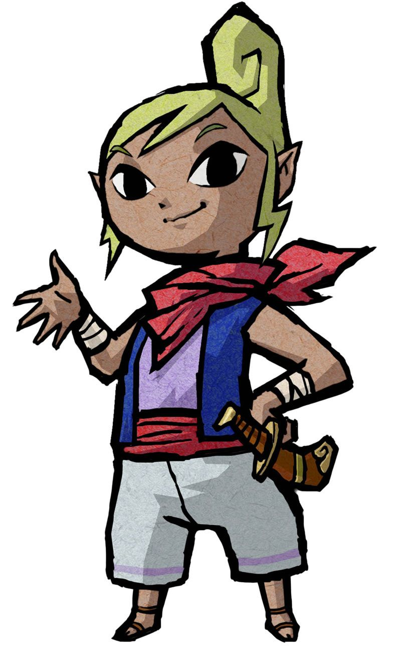 Tetra - Characters & Art - The Legend of Zelda: The Wind Waker HD ...