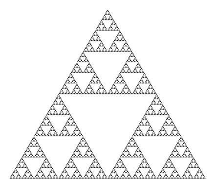シェルピンスキーのギャスケット - Wikipedia