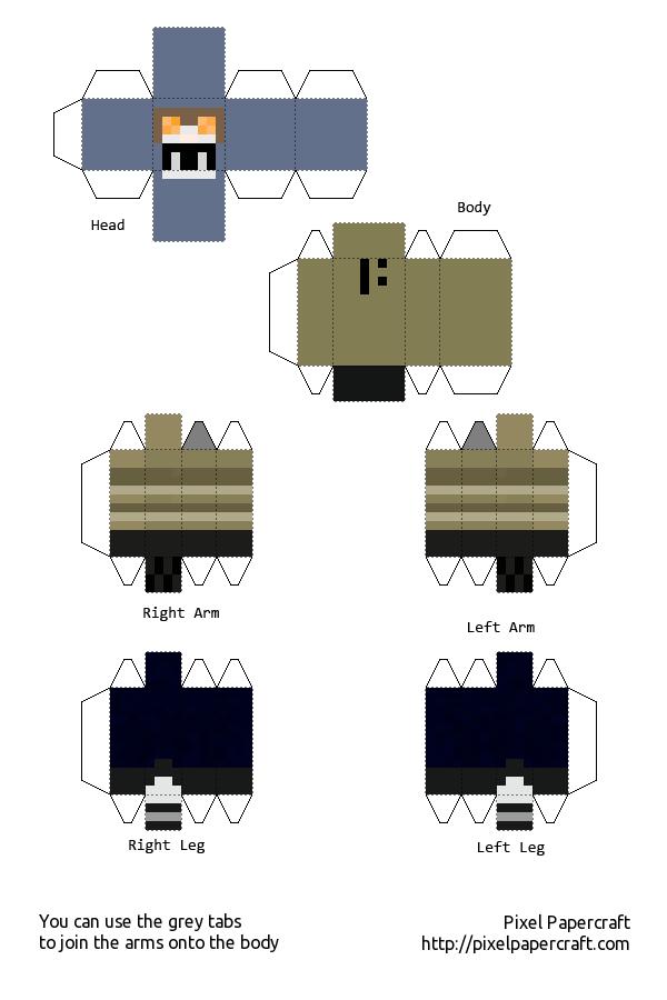 Minecraft Papercraft Boy Skins Www Pixshark Com Images