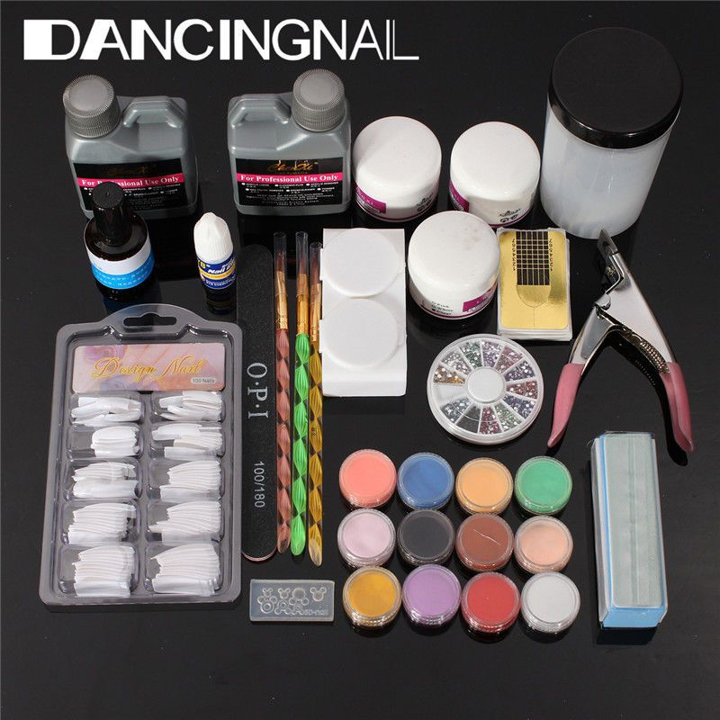 Cheap Same As The Other But On Ebay Nail Art Kit Acrylic Nail