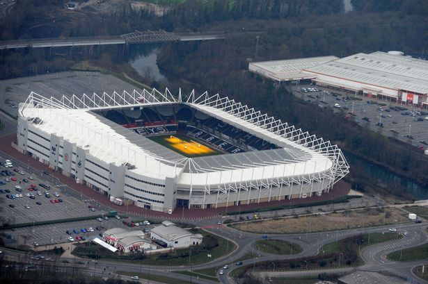 Swansea City Afc Liberty Stadium Football Stadiums Sports Stadium Swansea City
