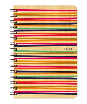 Look what I found on #zulily! Party Lines Wood Notebook by Night Owl Paper Goods #zulilyfinds
